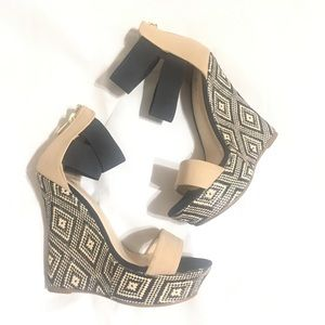 * Just fab wedges sz 7.5